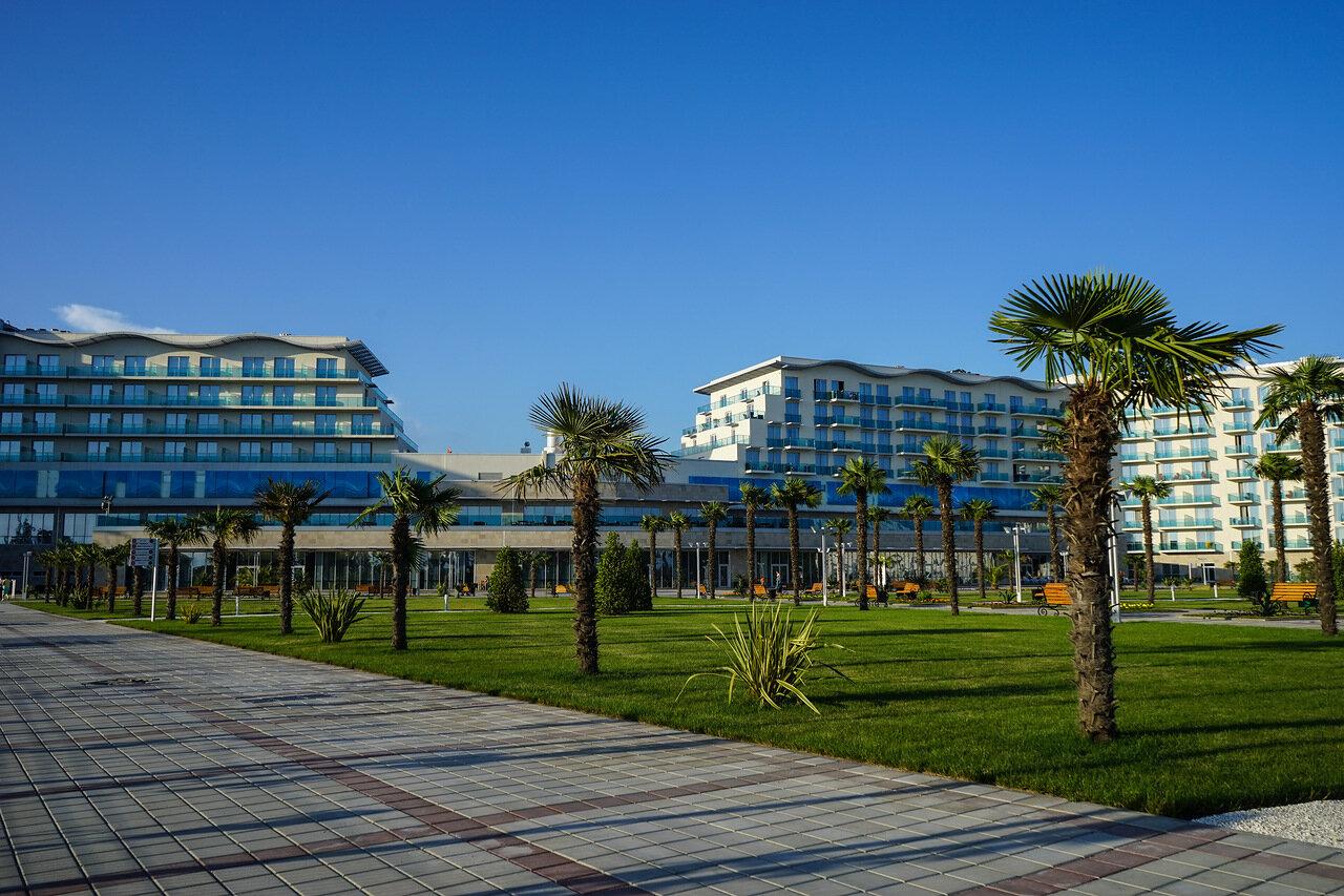 Азимут отель адлер фото пляжа
