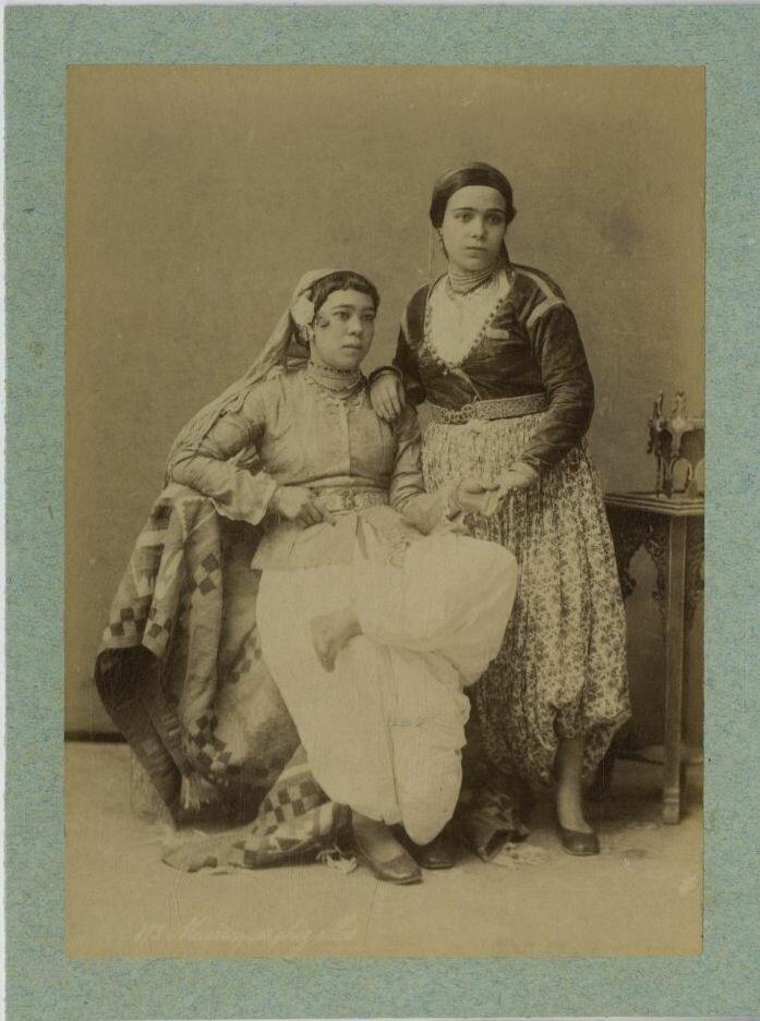 Тунис. Мавританские девушки