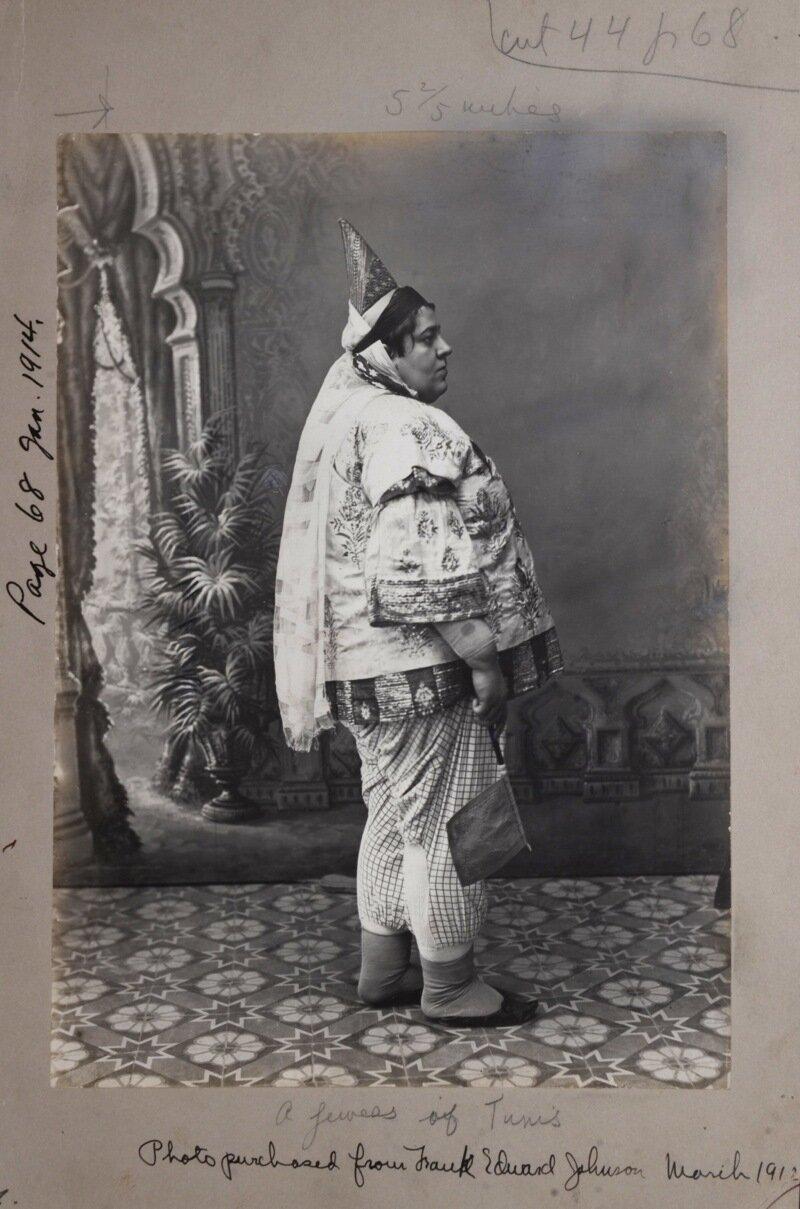 Тунис. Еврейка, около 1912