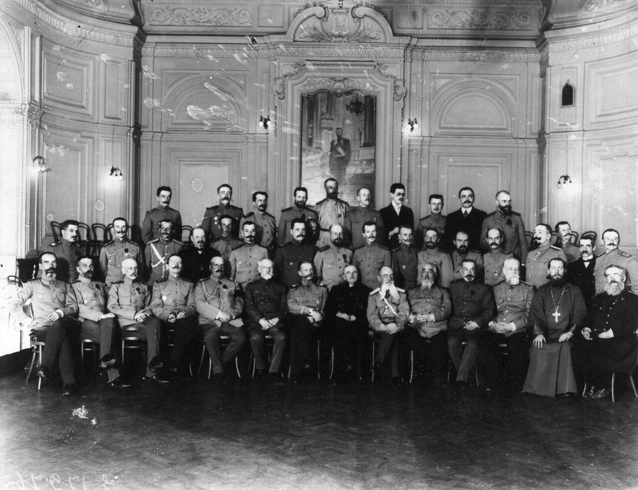 25. Чествование преподавателей корпуса в зале дома Армии и Флота