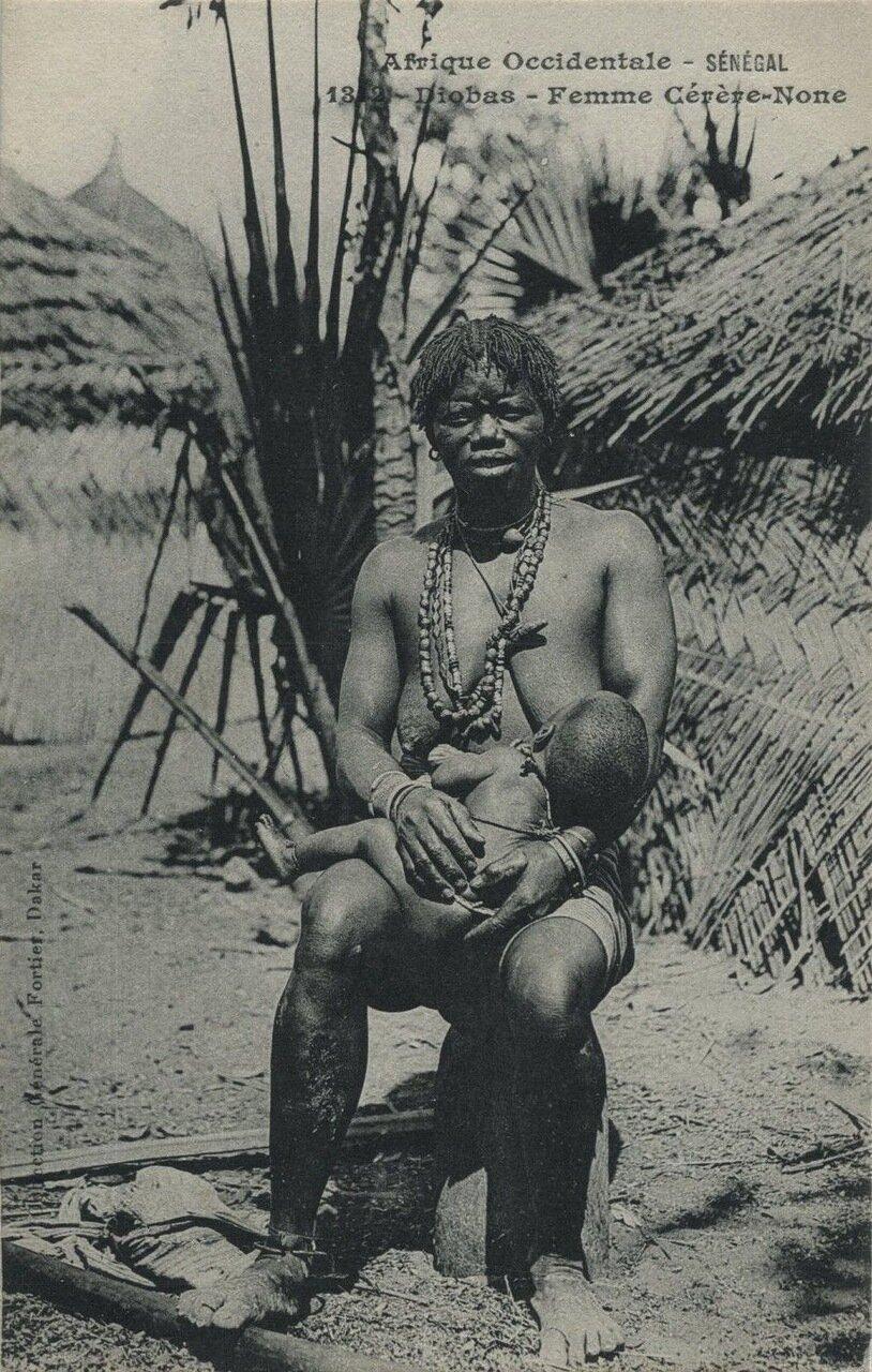 1342. Сенегал. Женщина гереро