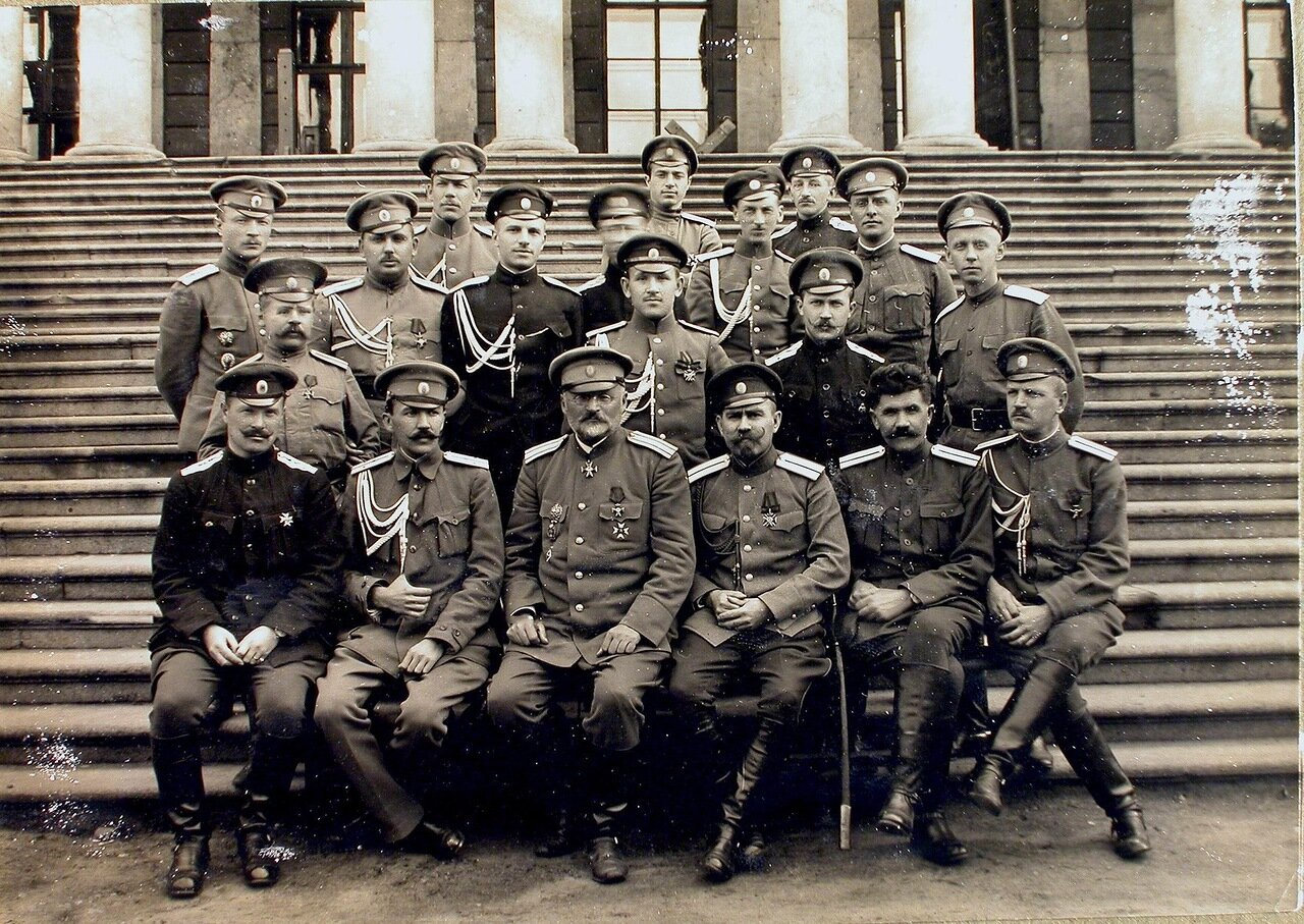 18. Группа офицеров штаба армии