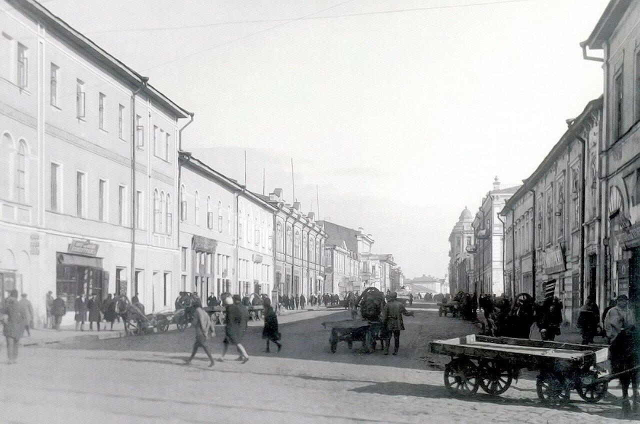 Рыбная улица со стороны Университетской