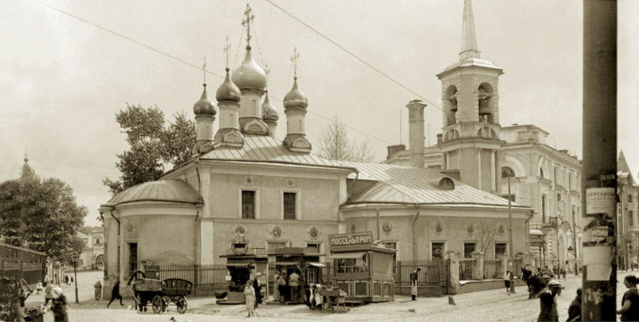 1920-е. Храм Воскресения Словущего на Остоженке