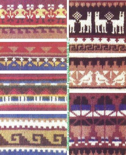 Орнамент для вязания и вышивки