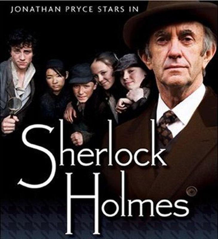 2007 г. Шерлок Холмс и чумазые сыщики с Бэйкер-стрит. В роли Холмса Джонатан Прайс.jpg
