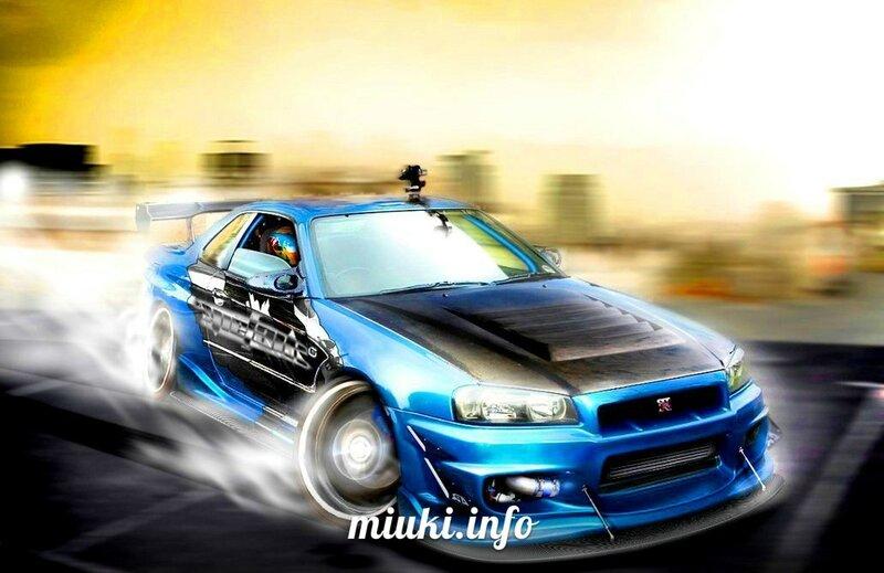 Японский автомобильный дрифт