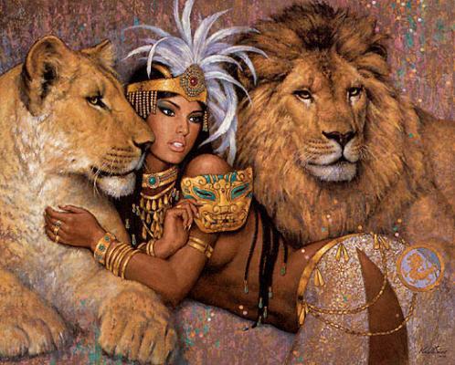 Карл Банг Укротительница львов