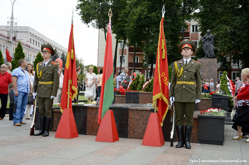 День Независимости в Гомеле