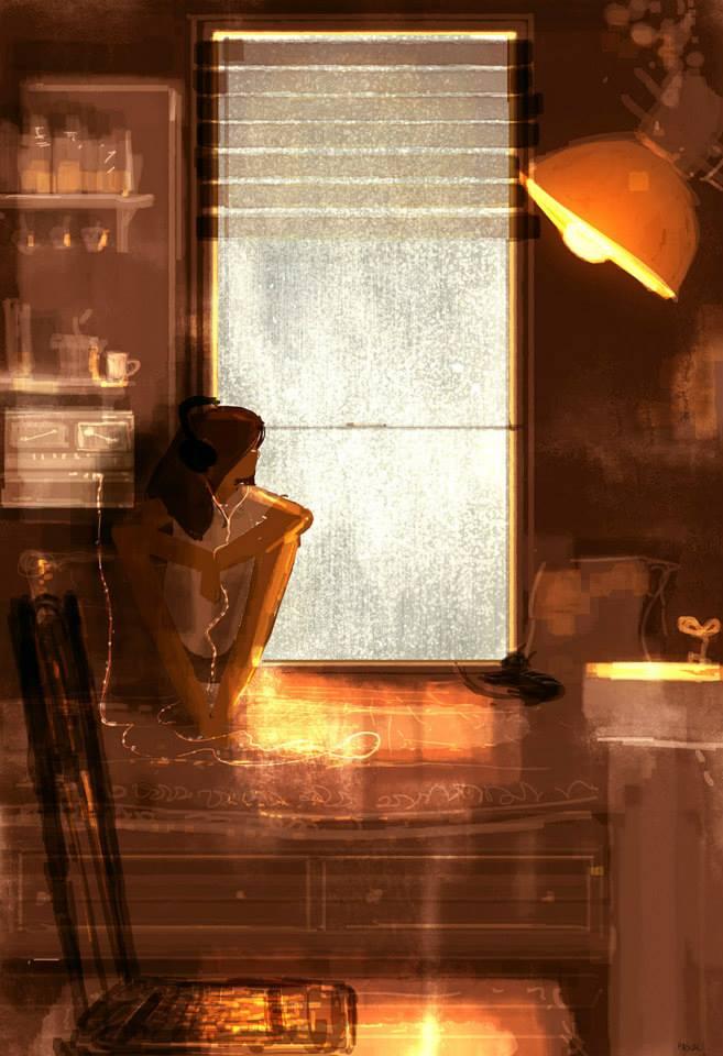 Со скетчем по жизни. Иллюстратор  Pascal Campion / Паскаль Кэмпион