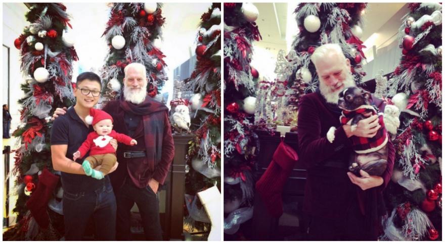 Втакого Санта-Клауса захотят поверить даже взрослые