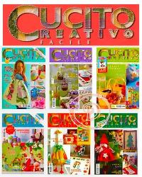 Журнал Cucito Creativo Facile (43 riviste)