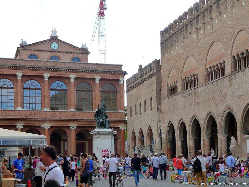 Римини-2014. Блошиный рынок.