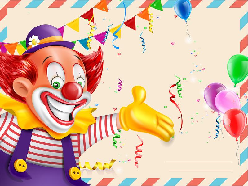 второй поздравления клоуном для дня рождения фотосессия осуществляется преимущественно