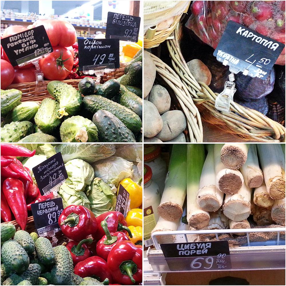 цены в киевском супермаркете