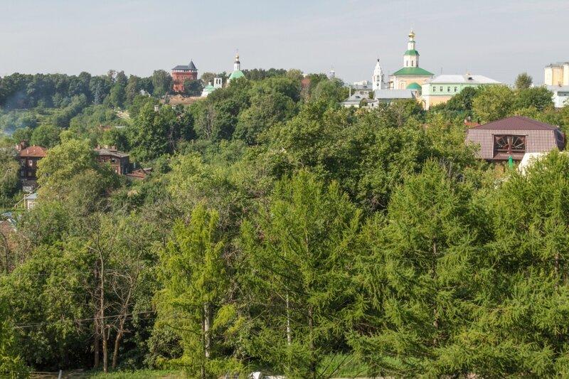 Вид в сторону Нового (Земляного) города, Владимир