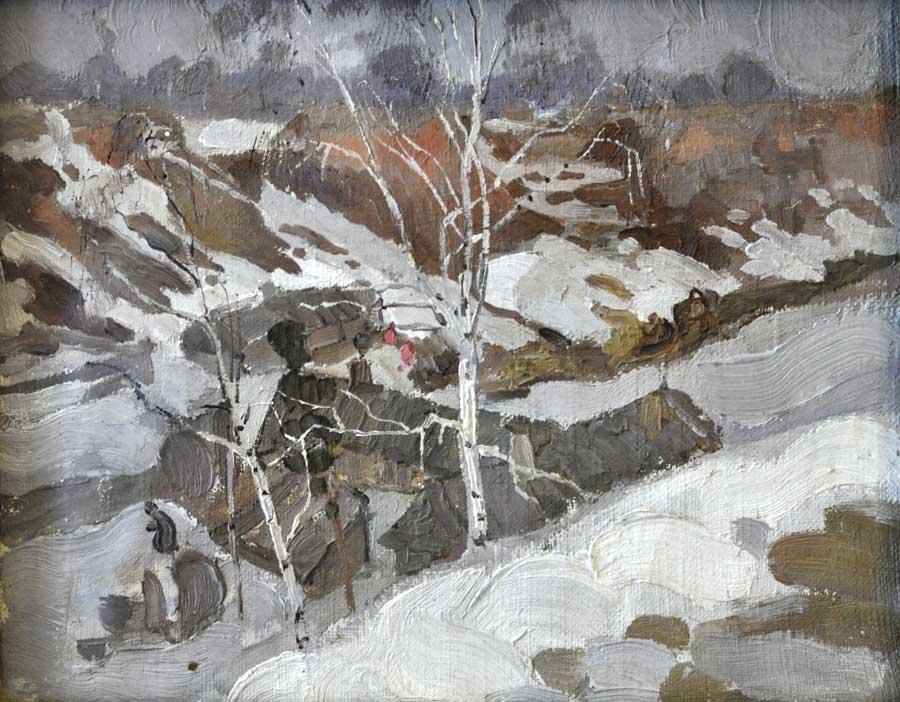 Фешин. Ранняя весна 1910-е гг. 900.jpg
