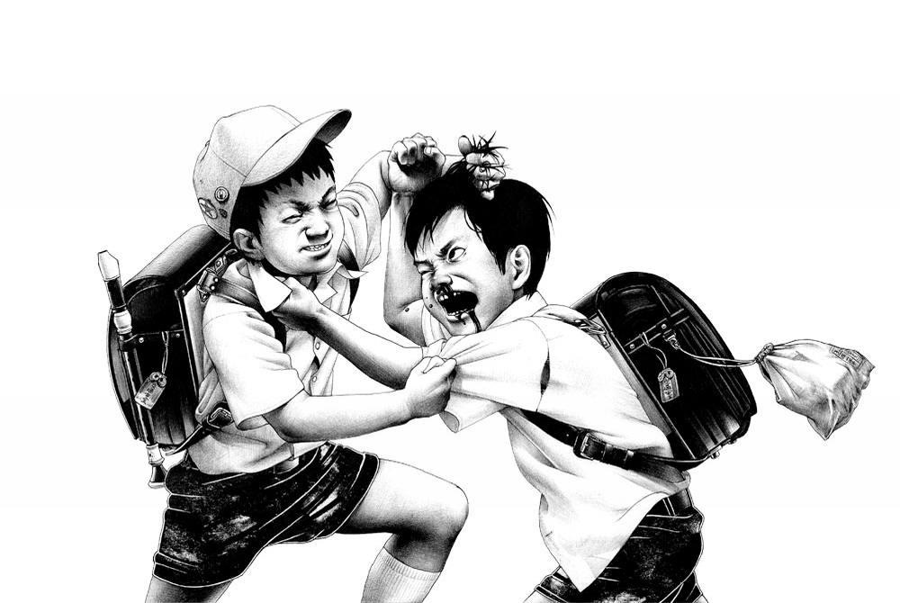 Сумасшедшие рисунки японского художника Shohei Otomo (12)