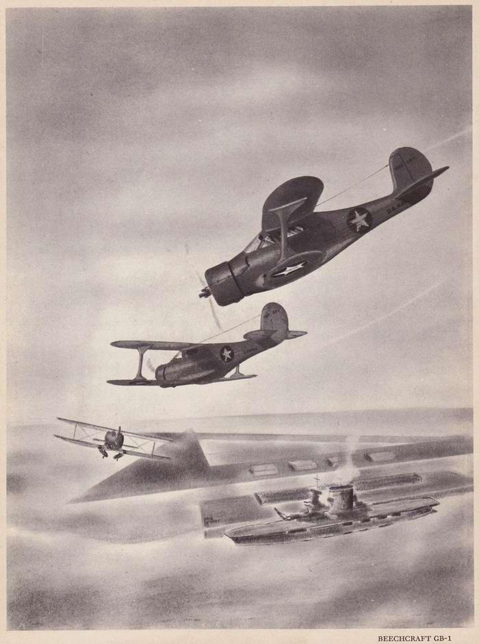 Beechcraft GB-1 - истребители