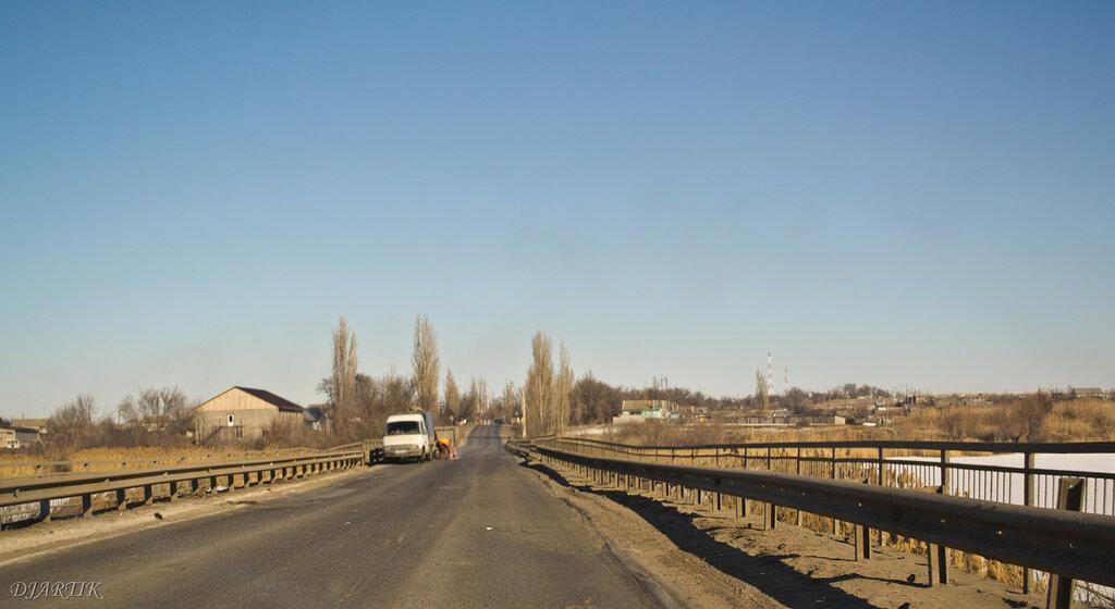 Мост перед Оленьем