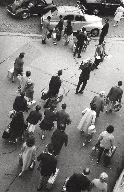 1956. Вокзал Монпарнас