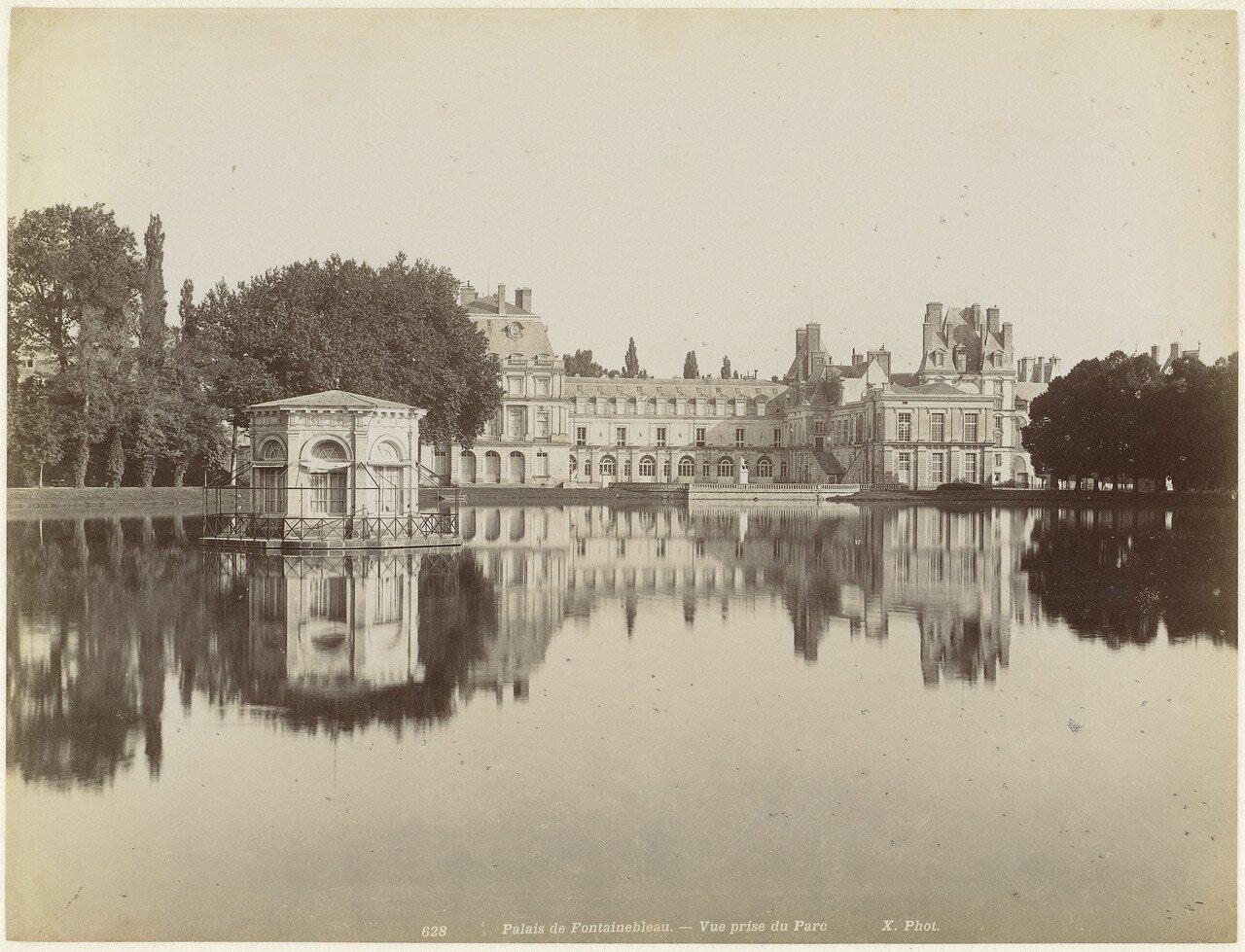 1850. Дворец Фонтенбло