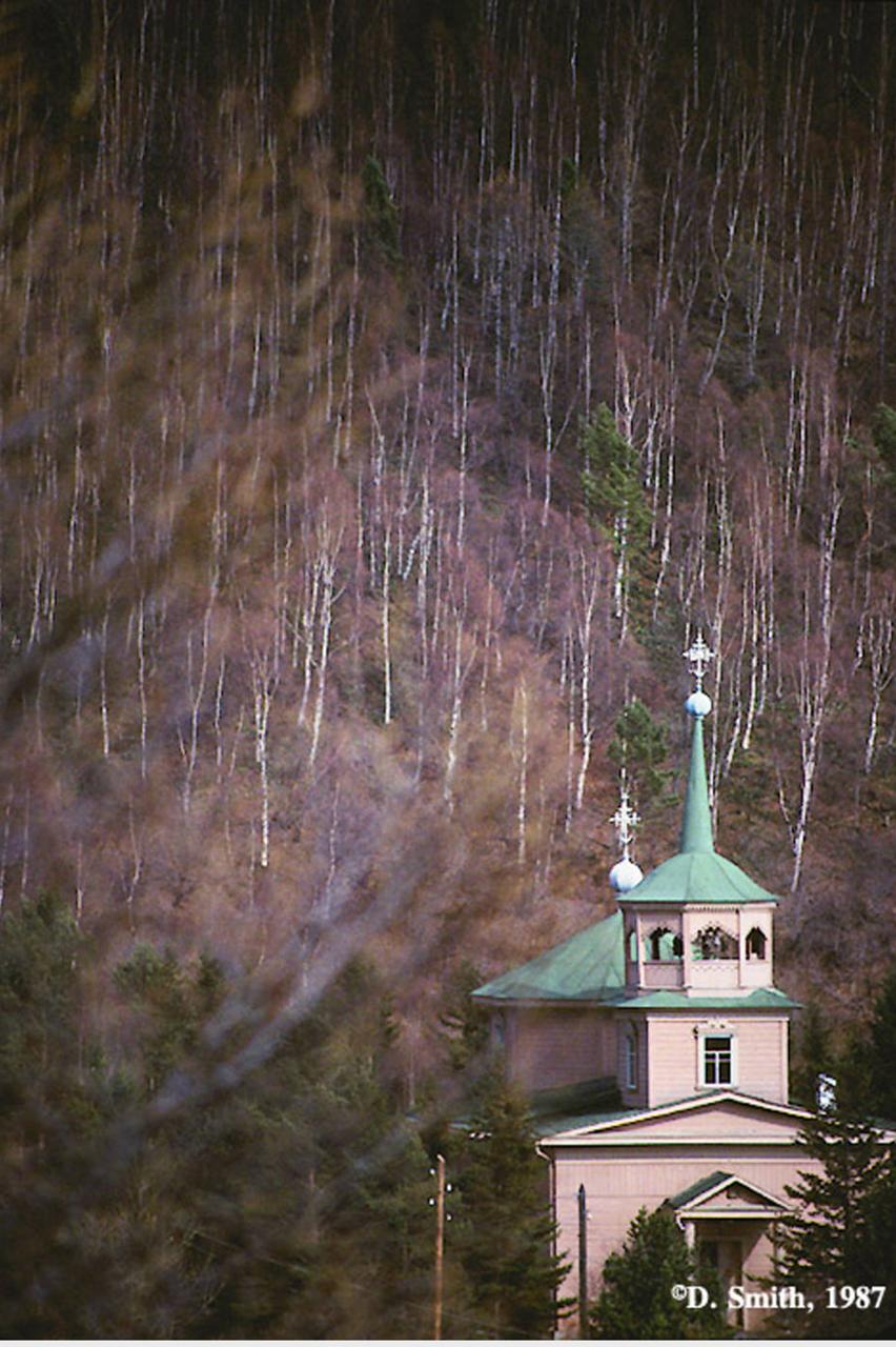 Свято-Никольская церковь в Листвянке