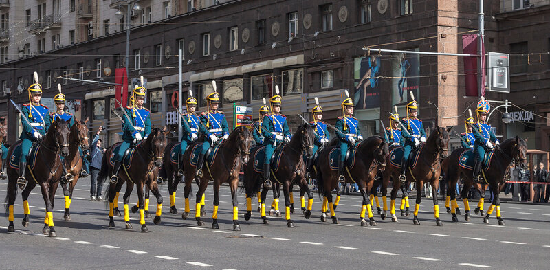 Кремлевский конный полк