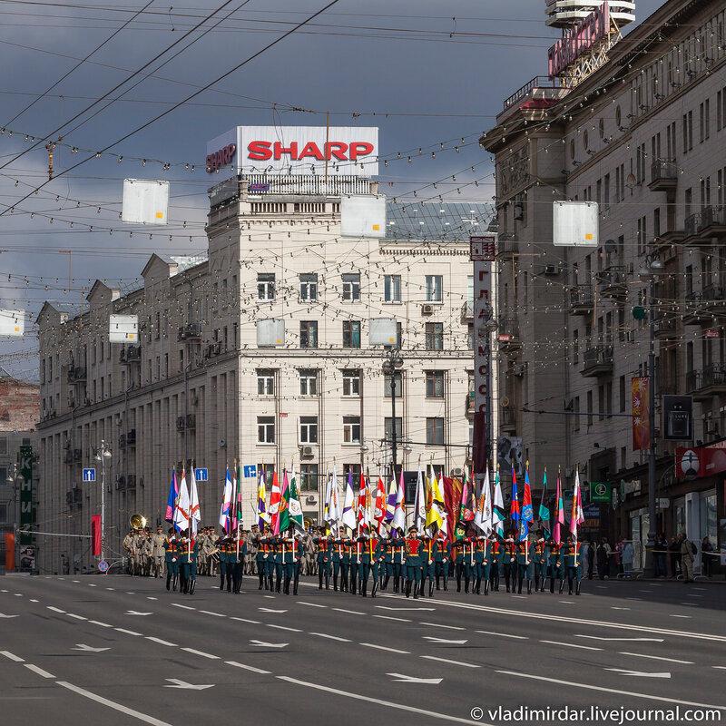 Sharp или Парад начинается