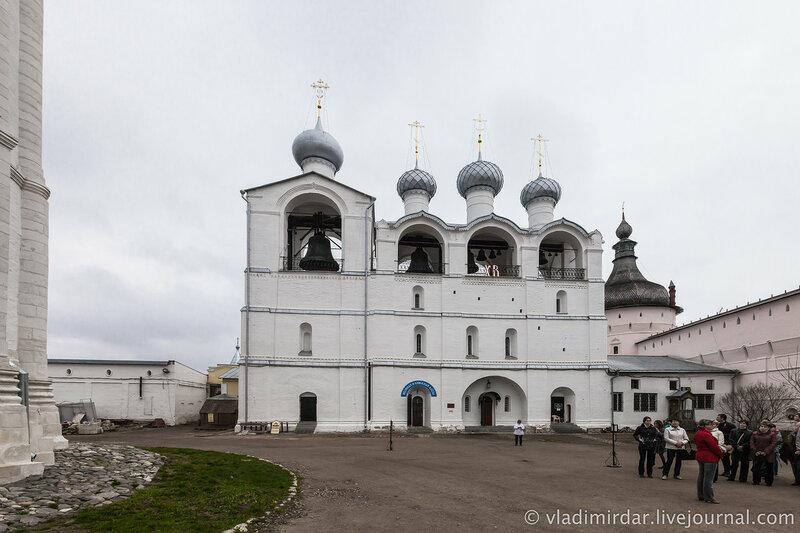 Соборная звонница Ростовского кремля