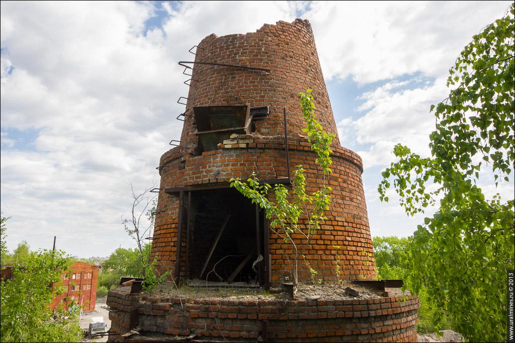 Известково-обжигательные печи Ивановского рудника