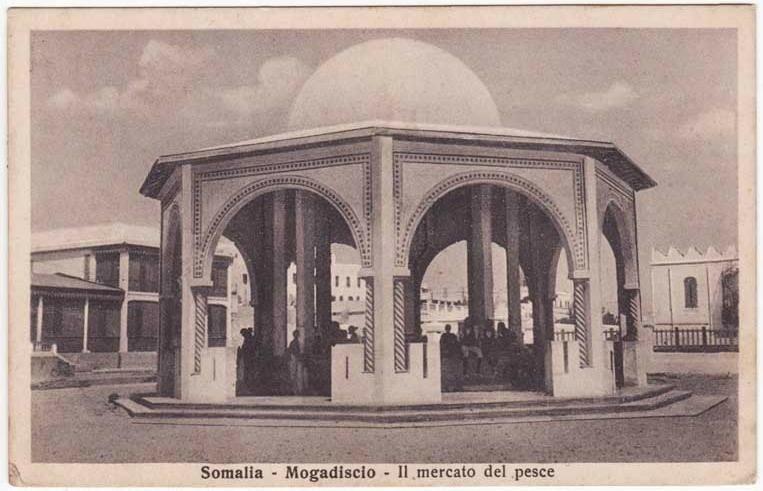 Сомали - Могадишо - Рыбный рынок 1935.jpg