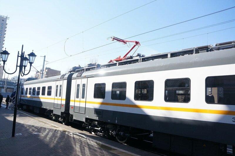 Показ поезда ЭП2Д