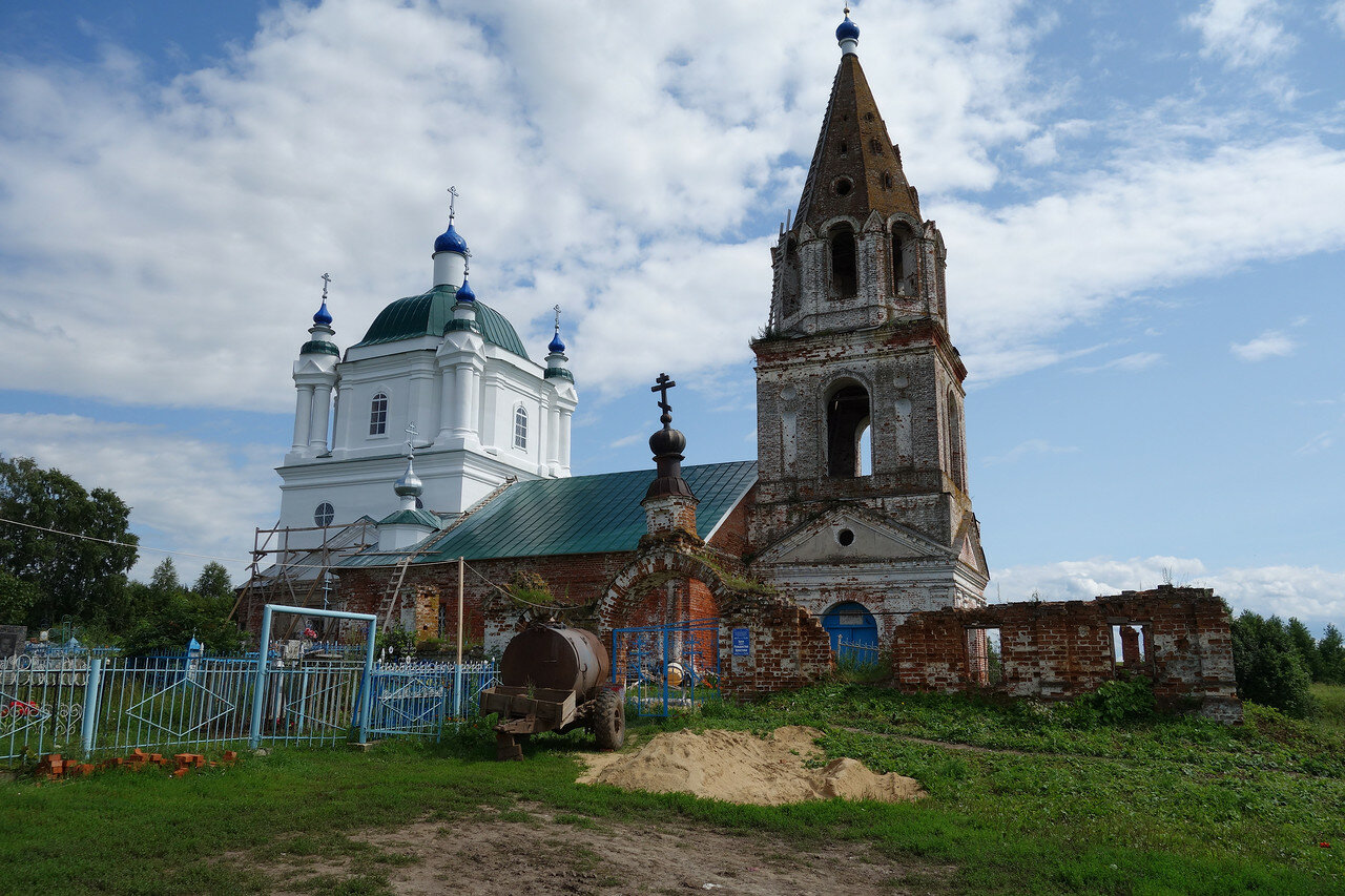 храм, Петровка