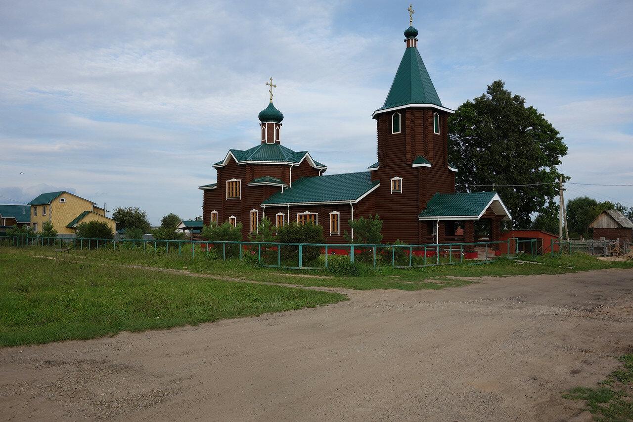 Микряково, деревянный храм