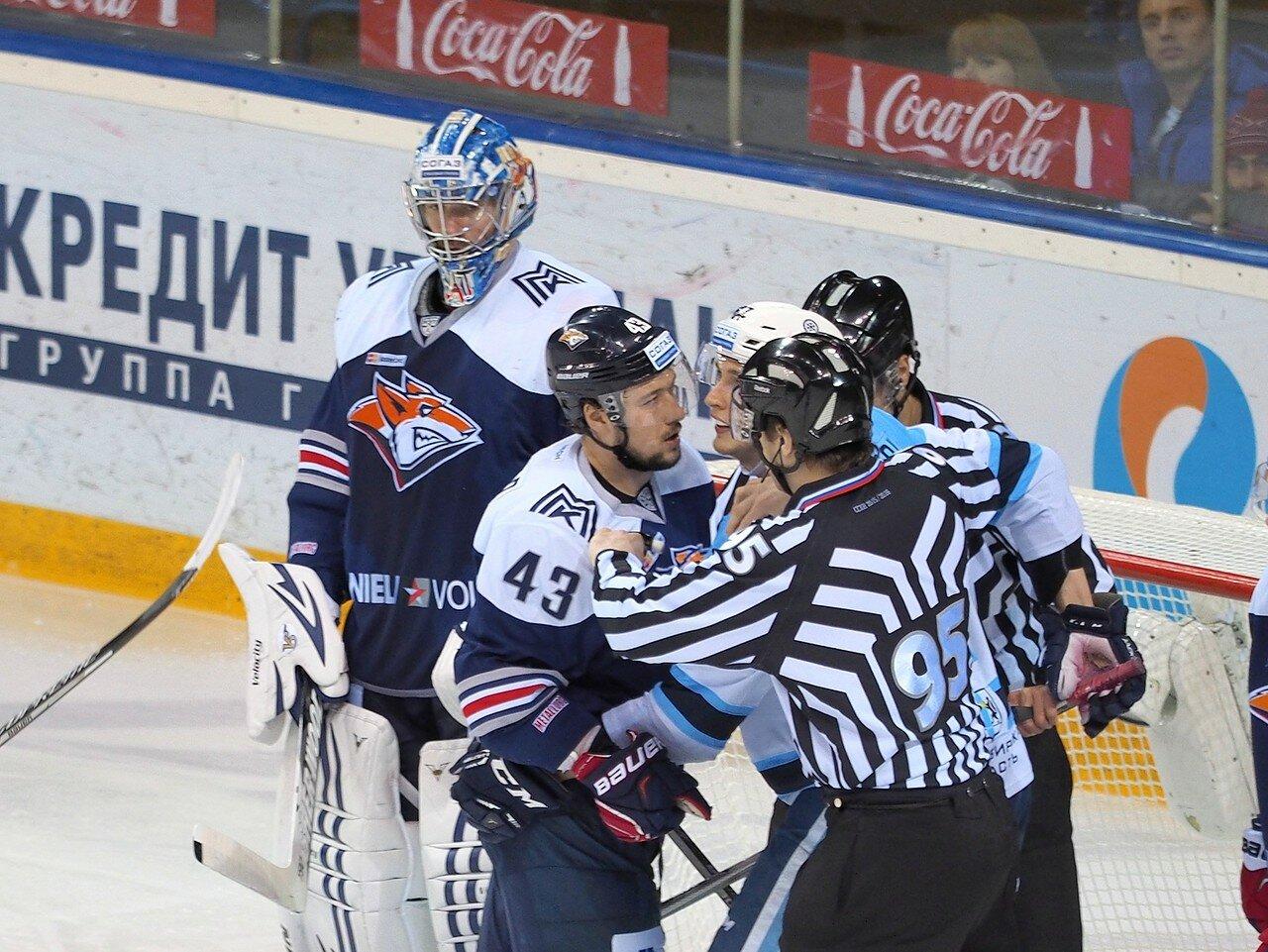113Восток 1/2 плей-офф Металлург - Сибирь 08.03.2016