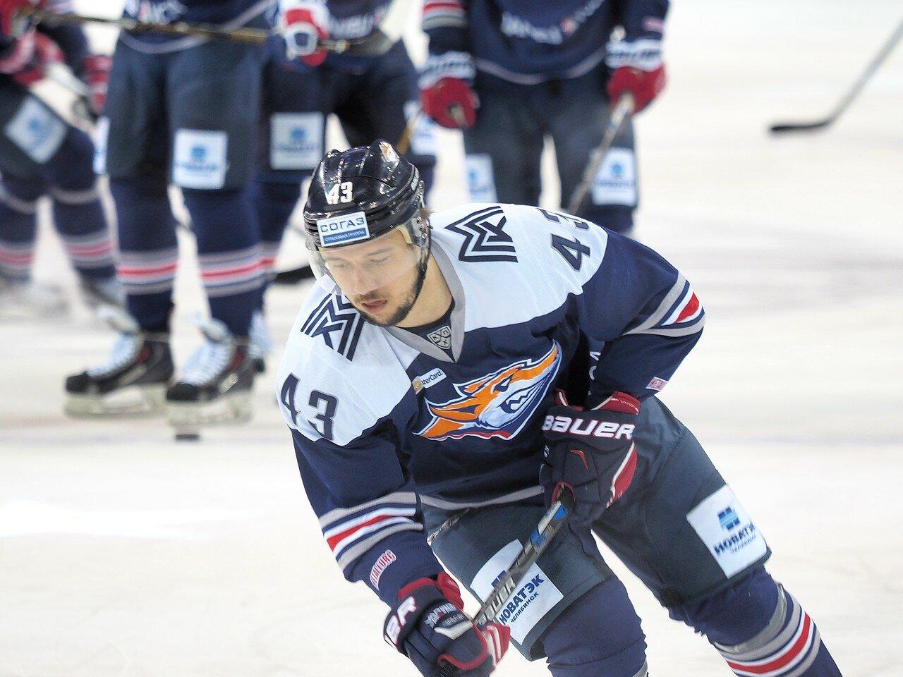 38Плей-офф 2016 Восток 1/2 Металлург - Сибирь 10.03.2016
