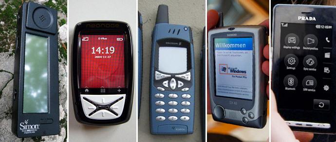 Мобильная ностальгия: сенсорные телефоны до эпохи iPhone