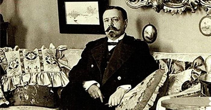 Тверской губернатор Николай фон Бюнтинг