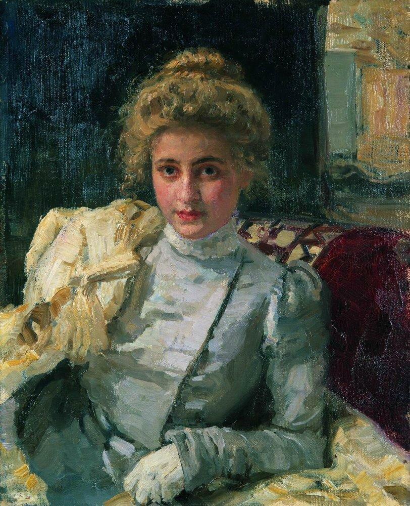 Блондинка (Портрет Ольги Тевяшевой). 1898.jpg