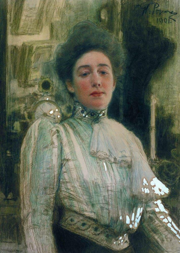 Портрет Александры Павловны Боткиной. 1901.jpg