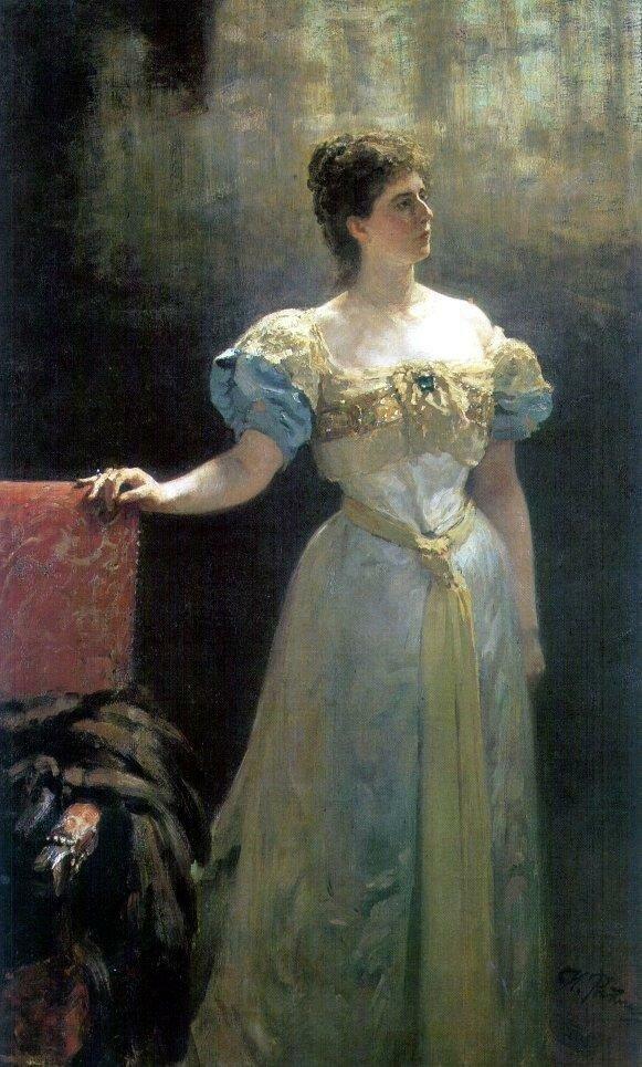 Портрет княгини М.К.Тенишевой. 1896.jpg