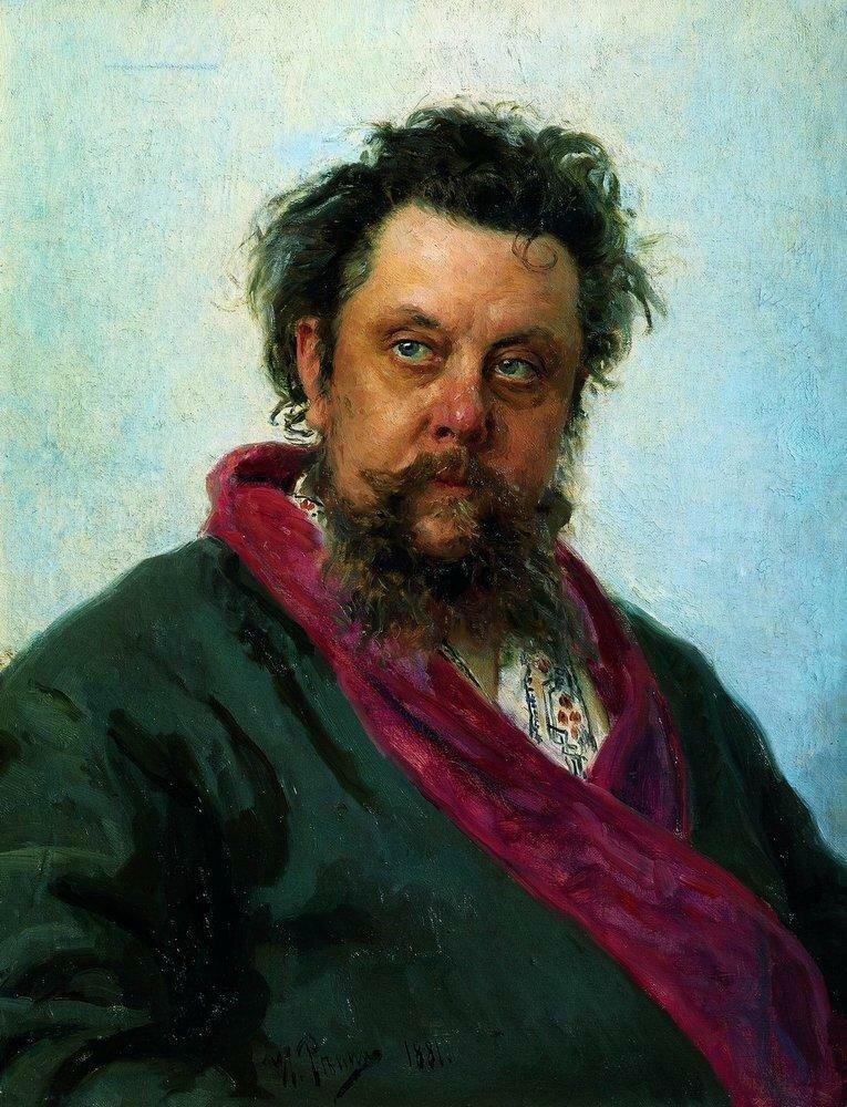 Портрет композитора М.П.Мусоргского. 1881.jpg
