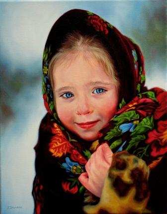 Потрясающе реалистичная живопись. Художник Iryna Zayarnys