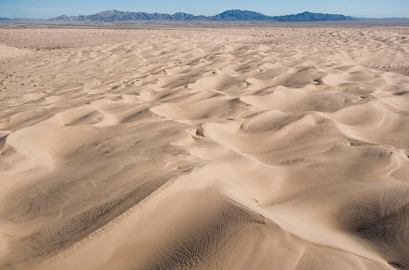 Imperial Dunes of California
