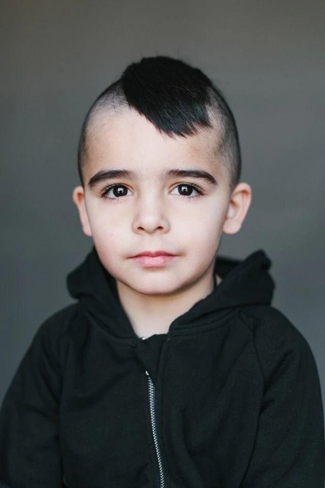 Лукьян, 5 лет. Папа — украинец/русский, мама — туркменка/татарка.