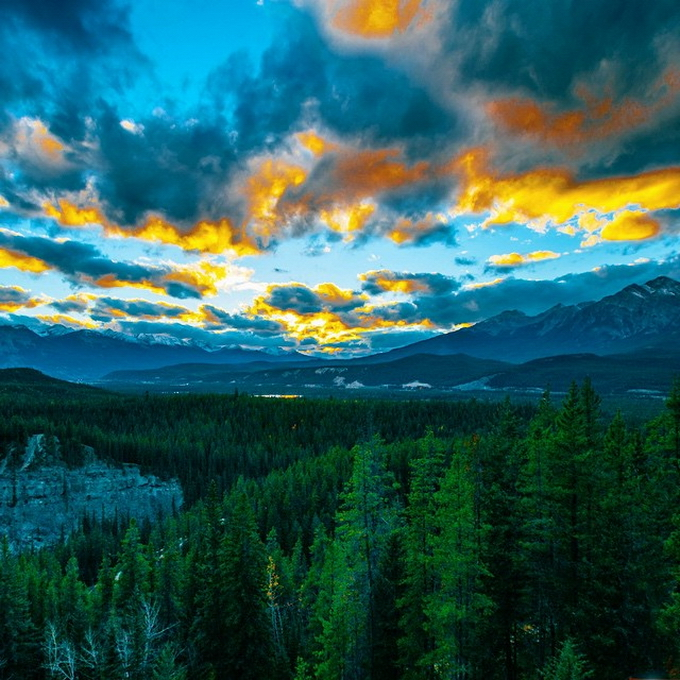 Красочные живописные пейзажи Джордана Хершеля (Jordan Herschel)
