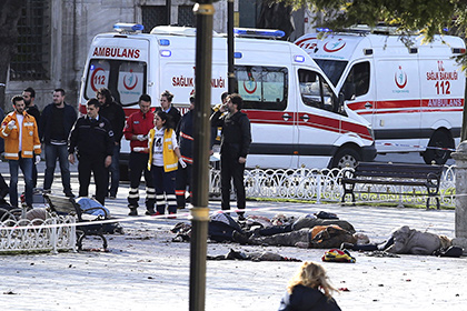 Эрдоган: Взрыв вСтамбуле выполнил террорист-смертник изСирии