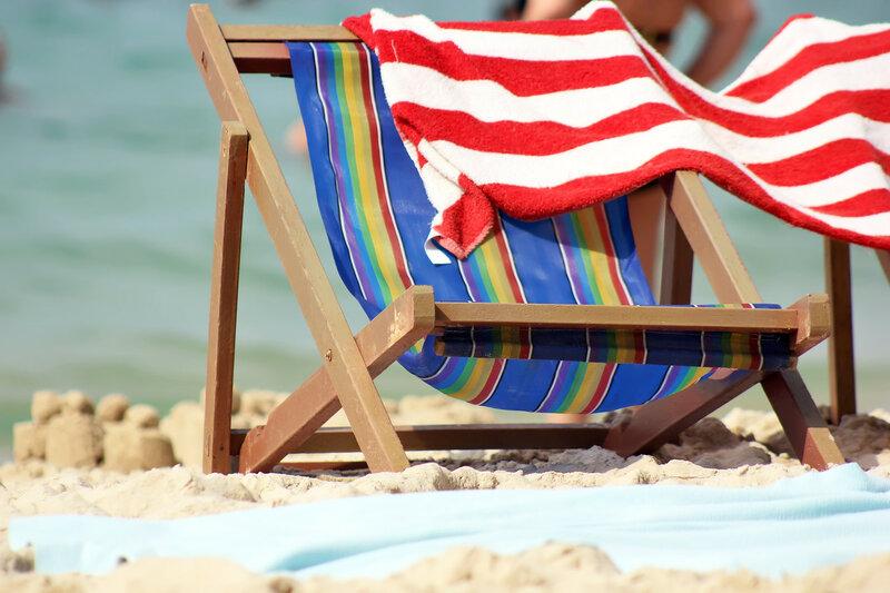 А где-то море, песок, солнце...
