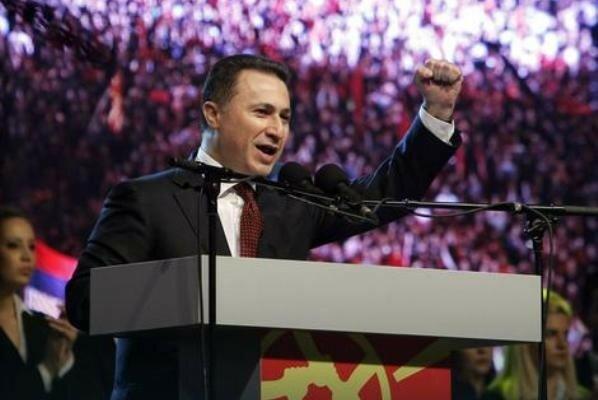 Македония, Груевский, политический кризис